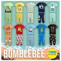 Baju anak cowok pijamas bumblebee