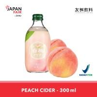 Cider Tomomasu Peach Cider - Minuman Jepang rasa persik 300 ml