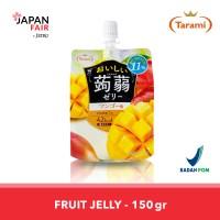 Jelly Tarami Oishii Konjac Mango Jelly Jepang rasa mangga 150gr