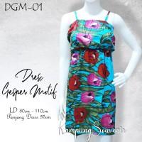 DRESS GESPER MOTIF DGM-01 BEST KAMPUNG SOUVENIR