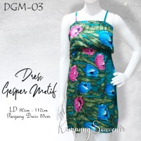 DRESS GESPER MOTIF DGM-03 BEST KAMPUNG SOUVENIR