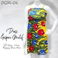 DRESS GESPER MOTIF DGM-04 BEST KAMPUNG SOUVENIR