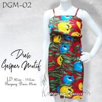 DRESS GESPER MOTIF DGM-02 BEST KAMPUNG SOUVENIR