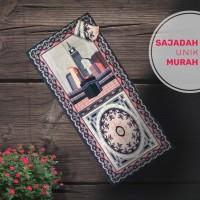 Sajadah Batik Solo Sajadah Motif Batik Seri Motif Marwah Serut Abu Abu