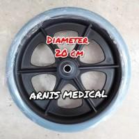 roda depan kursi roda diameter 20 cm,sparepart kursi roda