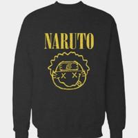 Hoodie Swester Baju Hangat Zipper Naruto Shippuden