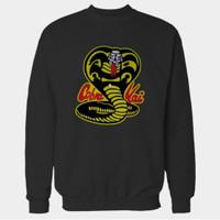 Hoodie Swester Baju Hangat Zipper The Karate Kids Kai Cobra