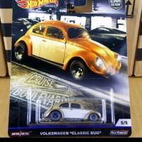 Hot Wheels Volkswagen Classics Bug cruise boulevard gold hotwheels