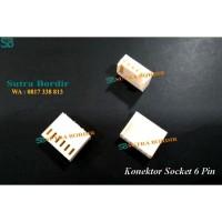 Konektor Socket 6 pin Bordir Komputer dan Industri