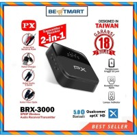 Receiver Bluetooth Transmitter Audio 5.0 HD stereo 2in1 PX BRX-3000