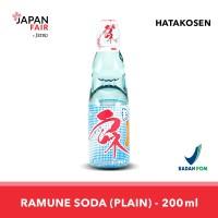 Soft Drink Hata Ramune Plain 200 ml Minuman Jepang