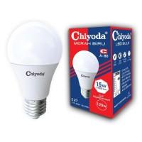 LAMPU LED BULB A60 CHIYODA 15W/E27/DL/PUTIH