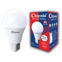 LAMPU LED BULB A60 CHIYODA 9W E27 CL/KUNING