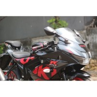 motor bekas rasa baru SUZUKI GSX-R150 BLACK 2018 WARNA FAVORITE FULL