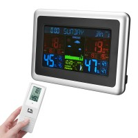 Tui Wireless LCD Display Digital Thermometer Hygrometer Color