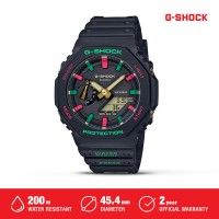 Casio G-Shock Jam Tangan Pria GA-2100TH-1ADR Analog-Digital