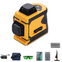 Tui Laser Level 12 Lines Green Self Leveling 360 Rotary Cross