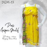 DRESS GESPER MOTIF DGM-13 BEST KAMPUNG SOUVENIR