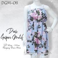 DRESS GESPER MOTIF DGM-08 BEST KAMPUNG SOUVENIR