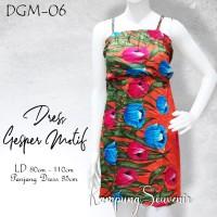 DRESS GESPER MOTIF DGM-06 BEST KAMPUNG SOUVENIR