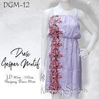 DRESS GESPER MOTIF DGM-12 BEST KAMPUNG SOUVENIR