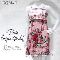 DRESS GESPER MOTIF DGM-11 BEST KAMPUNG SOUVENIR