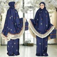 Baju Mukena / Perlengkapan Sholat Wanita Muslim Guci + Tas Cantik HQ