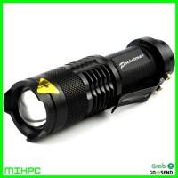Paket Senter LED 2000 Lumens Waterproof Pocketman P1