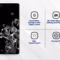 Samsung Galaxy S20 Ultra [ 12GB/128GB] Garansi Resmi Sein