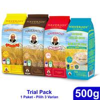 Haverjoy Trial Pack Bundle All Varian 500g - 3 Pcs