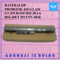 BATERAI HP PROBOOK 430 G2 430 G1 430 RA04 H6L28AA H6L28ET HSTNN-IB4L