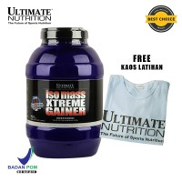 Iso Mass Xtreme Gainer (Chocolate), 10.11 lbs - Ultimate Nutrition