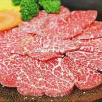 Japanese Wagyu Beef Filet Mignon A5 Tenderloin A5 A4 Sliced 250gr