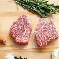 Japanese Wagyu Beef Filet Mignon A5 Tenderloin A5 A4 Steak 200gr