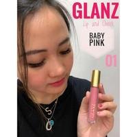 GLANZ LIP N CHEEK CREAM ORIGINAL BPOM - LIPSTICK GLANZ