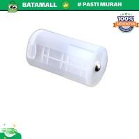 Konverter Barrel Baterai AA ke D