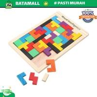 Mainan Puzzle Tangram Tetris