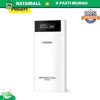 PISEN Power Bank LED Indicator 2 Port 20000mAh