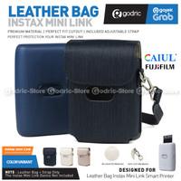 Fujifilm Leather Bag Polaroid Fuji Instax Mini Link Tas / Case Cover