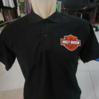 Kaos/Polo shirt/Tshirt Kaos Kerah Harley Davidson Club Sport
