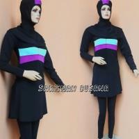 baju renang perempuan muslimah dewasa kerudung panjang zzg