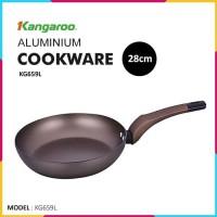Frypan Kangaroo KG-659L 28cm Aluminium Free PFOA - Elegant Design