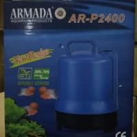 aquarium kolam ikan pompa celup water pump ARMADA AR P 2400 LOW WATT
