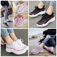 BEST SELLER Sepatu Kets Cewek Fashion Sport TERLARIS