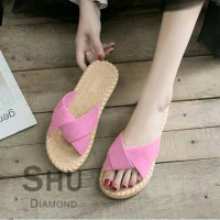 BEST SELLER RM 03 Suede sandals etnik TERLARIS