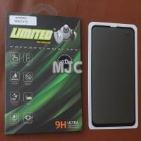 Limited Tempered Glass Spy Vivo V15 Full Black Privacy Premium