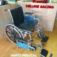 kursi roda standar deluxe, second,seken, bekas