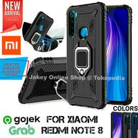 Case Xiaomi Redmi Note 8 STAND IRING SOFT ARMOR 360 back cover HP