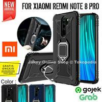 Case Xiaomi Redmi Note 8 PRO STAND IRING SOFT ARMOR 360 back cover HP