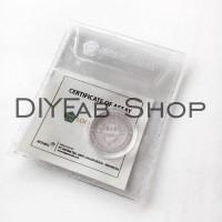 Koin Dirham Antam Perak 3.1 gram bonus kapsul Silver